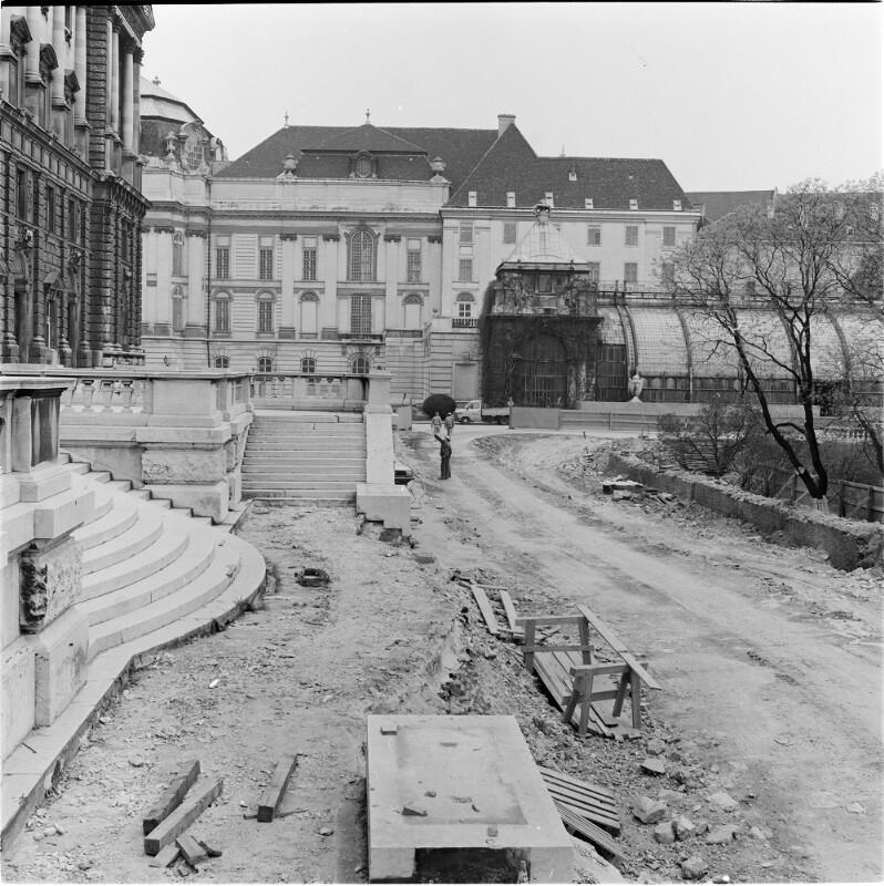 Wien 1, Nationalbibliothek in der Hofburg