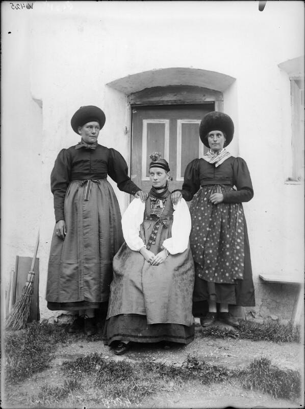 Drei Frauen aus dem Lechtal