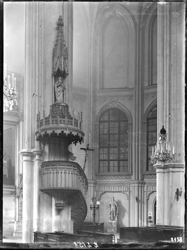Kanzel in der Minoritenkirche, Wien
