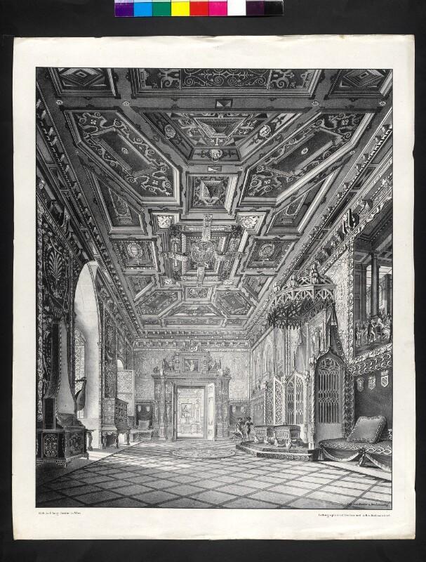 Ansicht vom Prunksaale