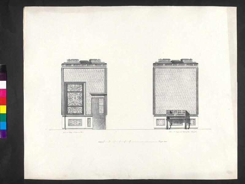 Rückseite des Cabinets