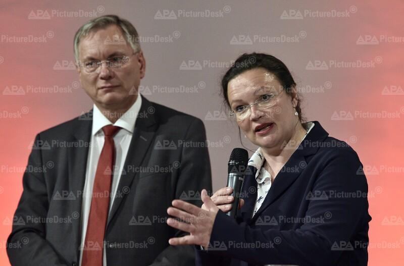 "SPÖ ""ARBEITSWELT 4.0"": NAHLES / STÖGER"
