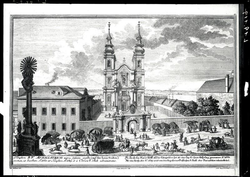 Mariahilfer Kirche in Wien