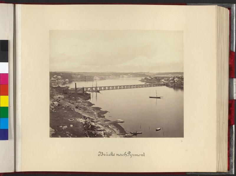 Brücke nach Pyrmont (Pyrmont Bridge)