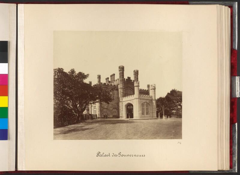Sydney, Palast des Gouverneurs (Government House)