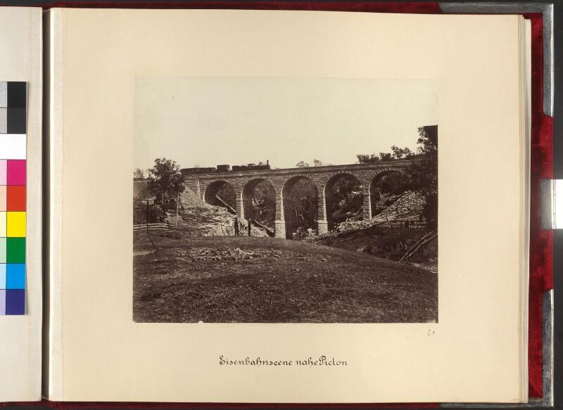 Eisenbahnviadukt nahe Picton