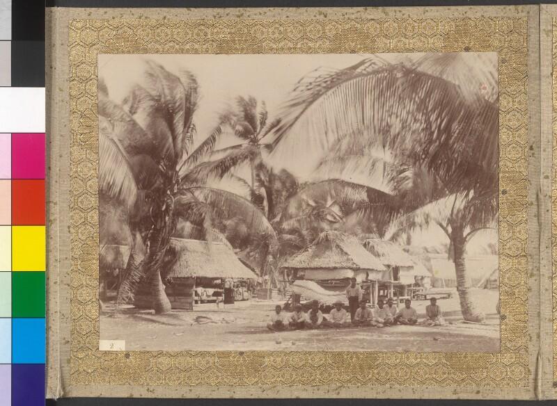 Dorf auf Tabuaeran (Fanning-Insel)