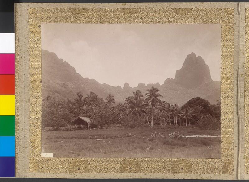 Der Mount Tohivea auf der Insel Moorea