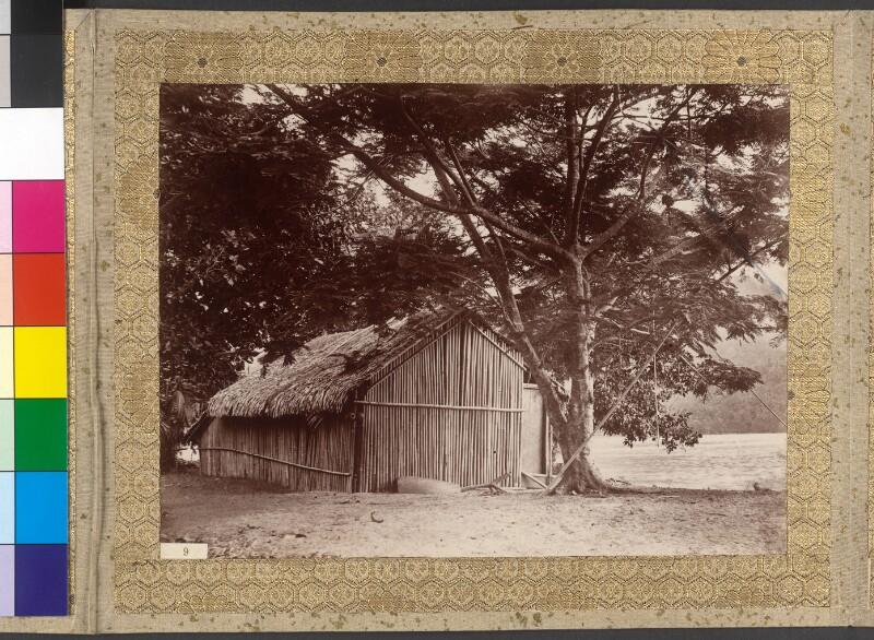 Hütte auf der Insel Moorea