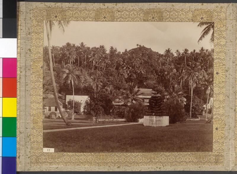 Missionsgebäude auf Rarotonga