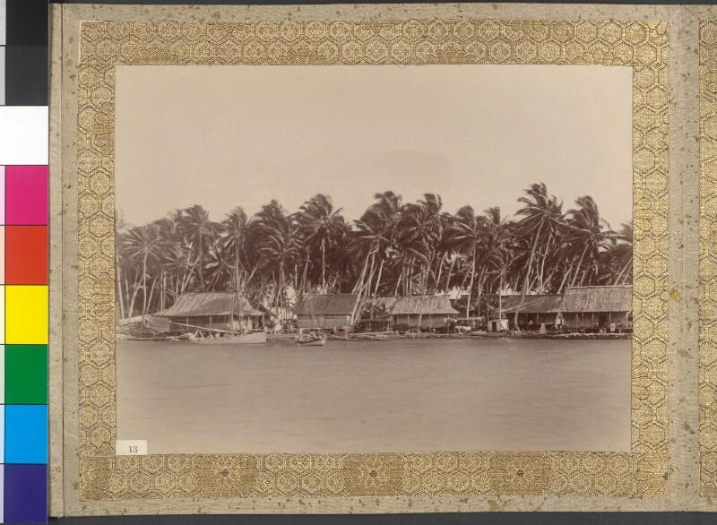 Dorf Omoka auf der Insel Penrhyn