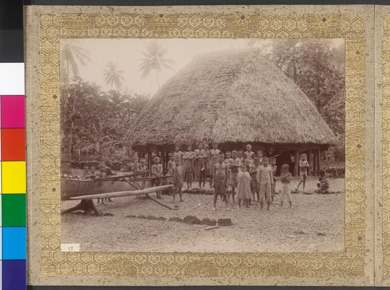 Manuainseln (Samoa): Dorfansicht