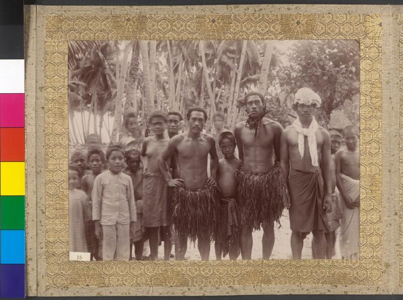 Bewohner der Manuainseln (Amerikanisch-Samoa)