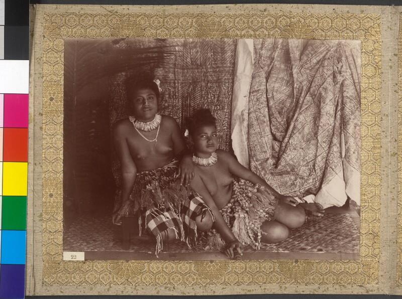 Junge Frauen aus Upolu (Samoa)
