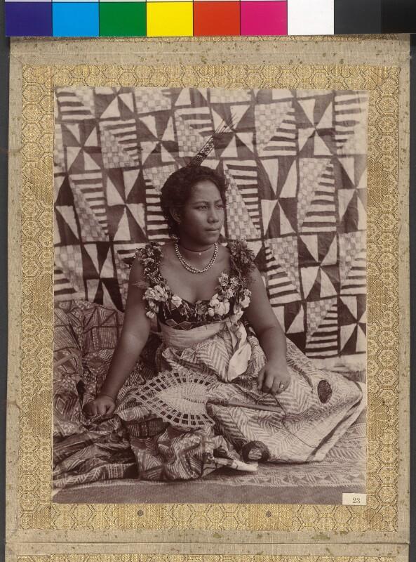 Tapa Svenga, samoanische Herrscherin