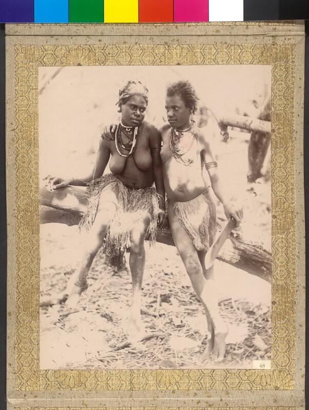 Insel Tanna (Vanuatu): Küstenbewohnerinnen