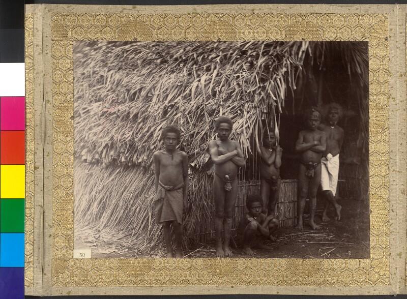 Insel Tanna (Vanuatu): Der König mit seinen Söhnen