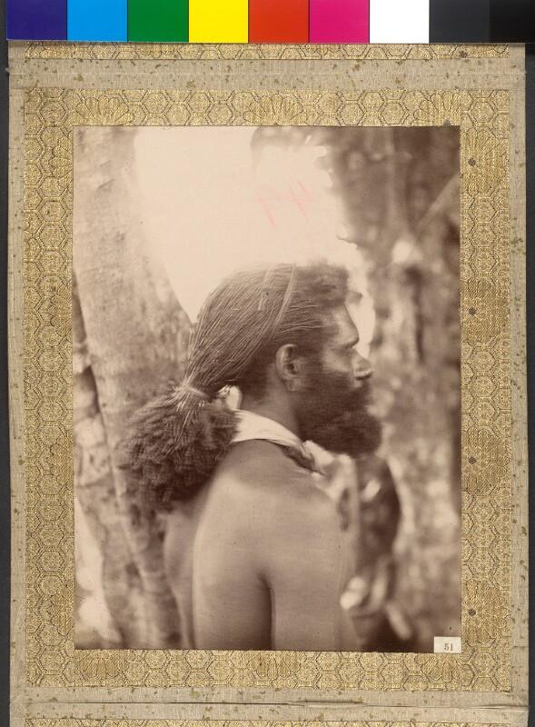 Insel Tanna (Vanuatu): Inselbewohner mit Flechtfrisur