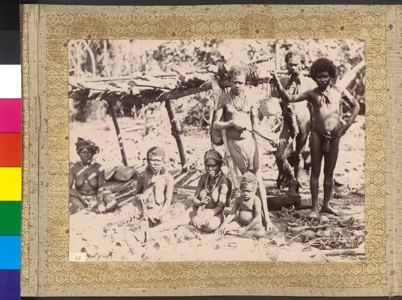 Insel Tanna (Vanuatu): Kopra-Zubereitung