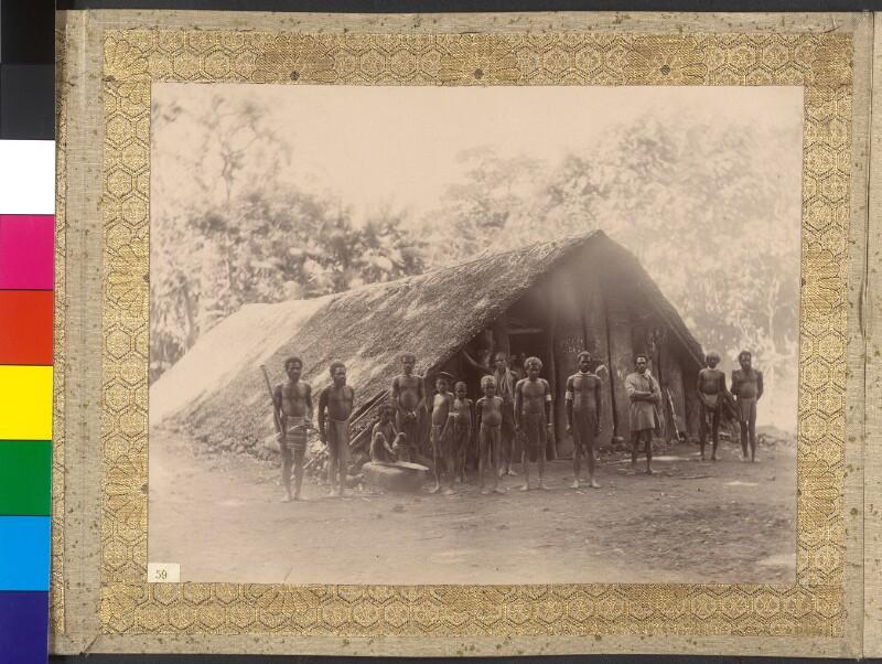 Einwohner der Insel Ambae (ehemals Aoba), Inselrepublik Vanuatu