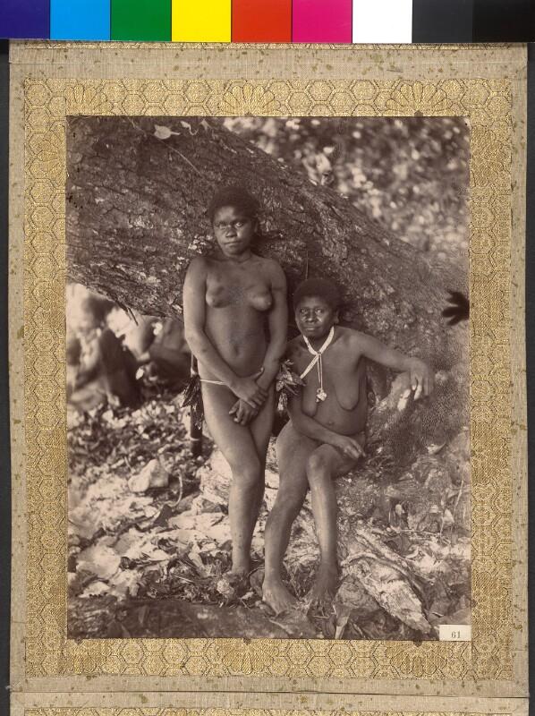 Espiritu Santo (Vanuatu): Einwohnerinnen von Hog Harbour