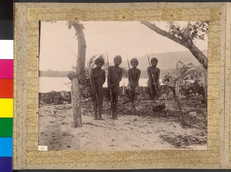 Espiritu Santo (Vanuatu): Bewaffnete Einwohner von Port Olry