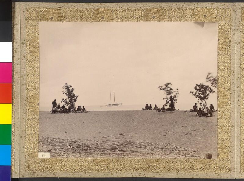 """Espiritu Santo (Vanuatu): Die Yacht """"Tolna"""" vor der Bucht von St. Philippe"""