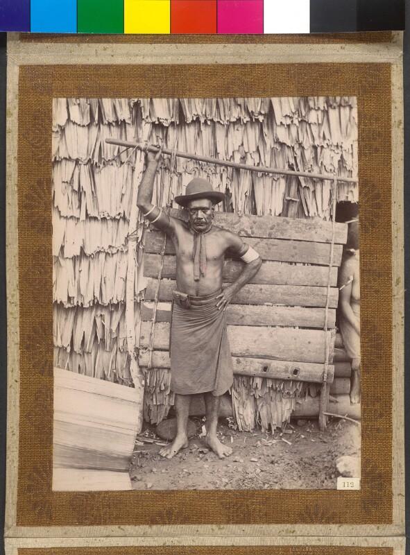 Treasury Inseln (Salomonen): Der König Manghila