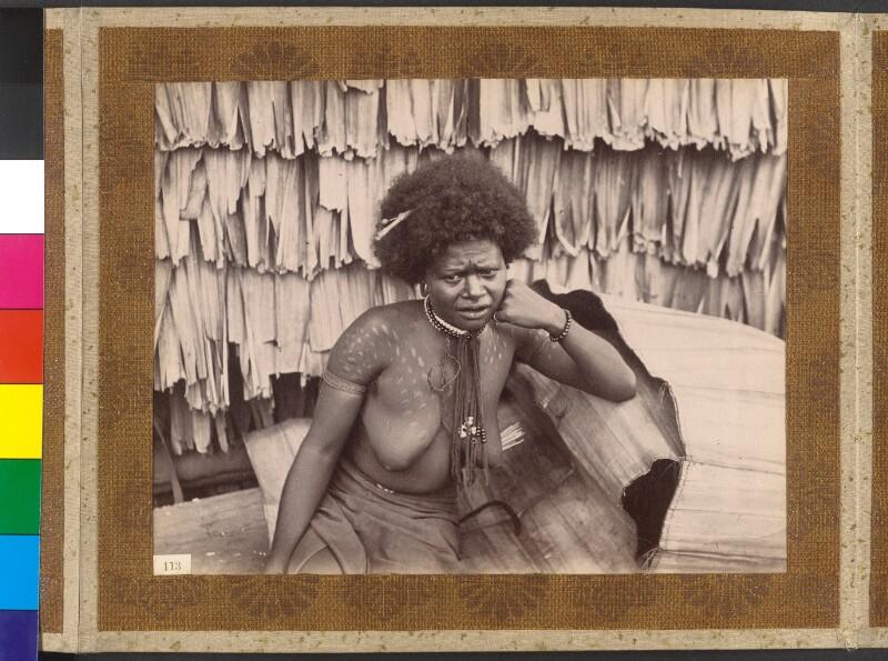 Treasury Inseln (Salomonen): Eine der Frauen des Königs Manghila