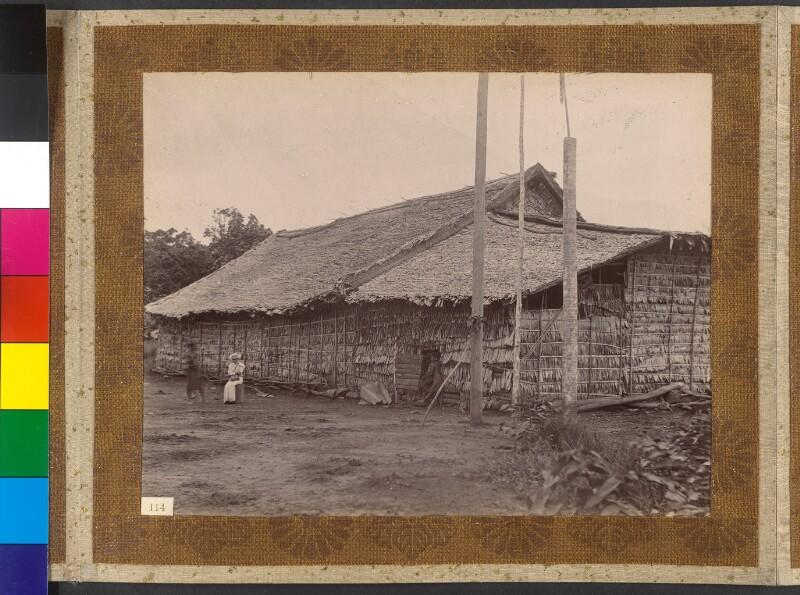 Treasury Inseln (Salomonen): Die Stadt-Residenz des Königs Manghila