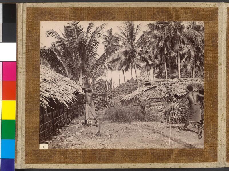 Treasury Inseln (Salomonen): Gestellte Kampfszene