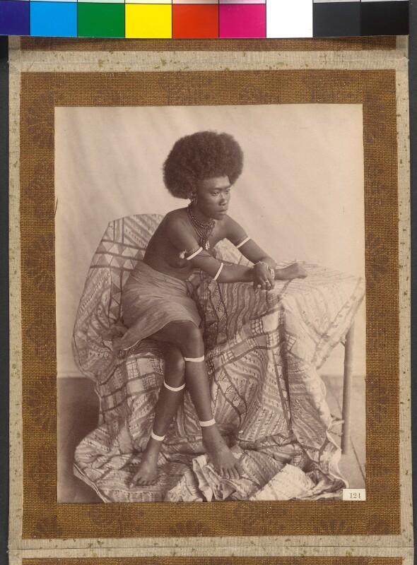 Shortland- und Bougainville-Inseln (Salomonen): Maggie, Enkelin des verstorbenen Königs Gorai