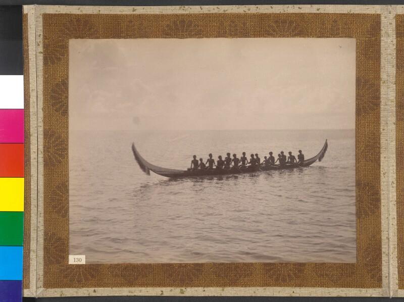Insel Buka (Salomonen): Kriegspiroge