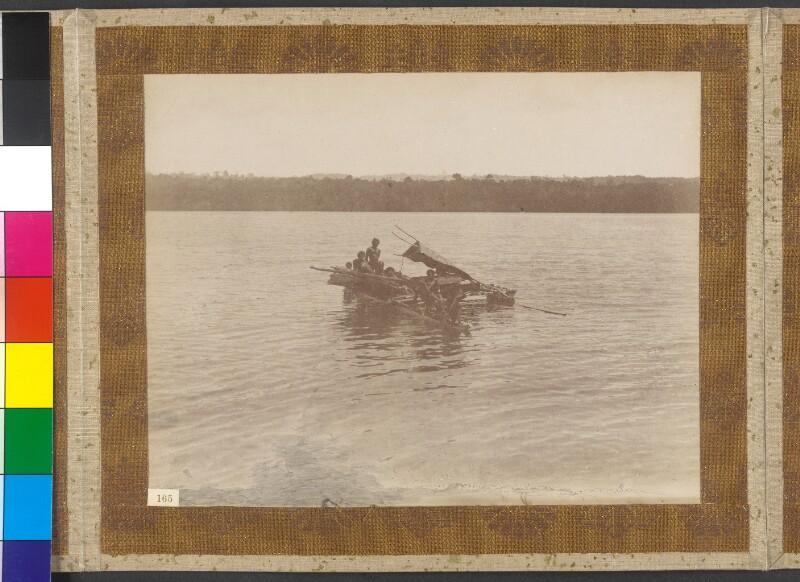 Admiralitätsinseln: Boot des Königs