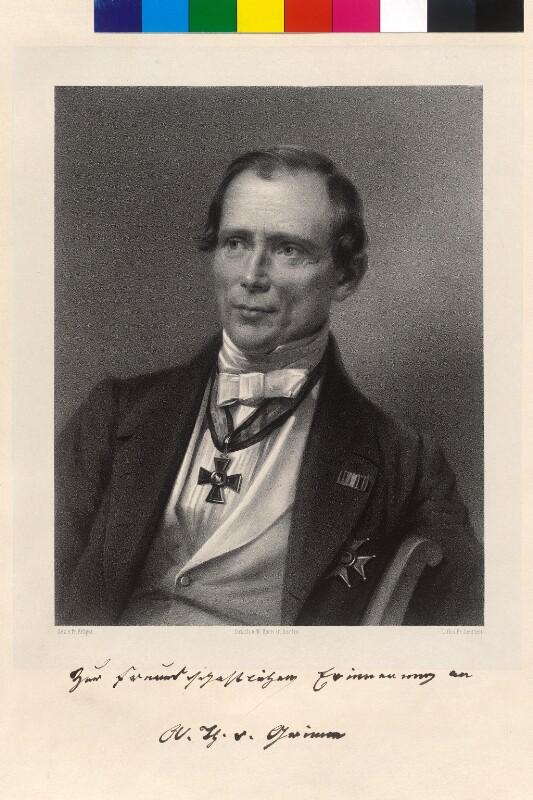 Grimm, August Theodor von