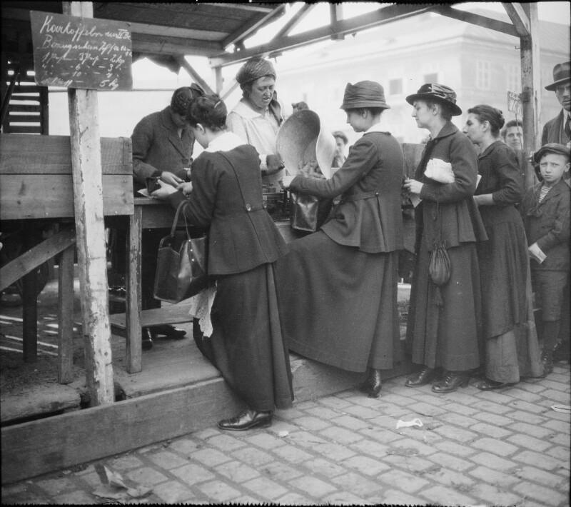 Wien 4, Naschmarkt Erster Weltkrieg