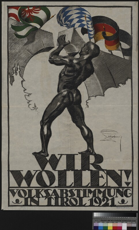 Wir wollen! Volksabstimmung in Tirol 1921