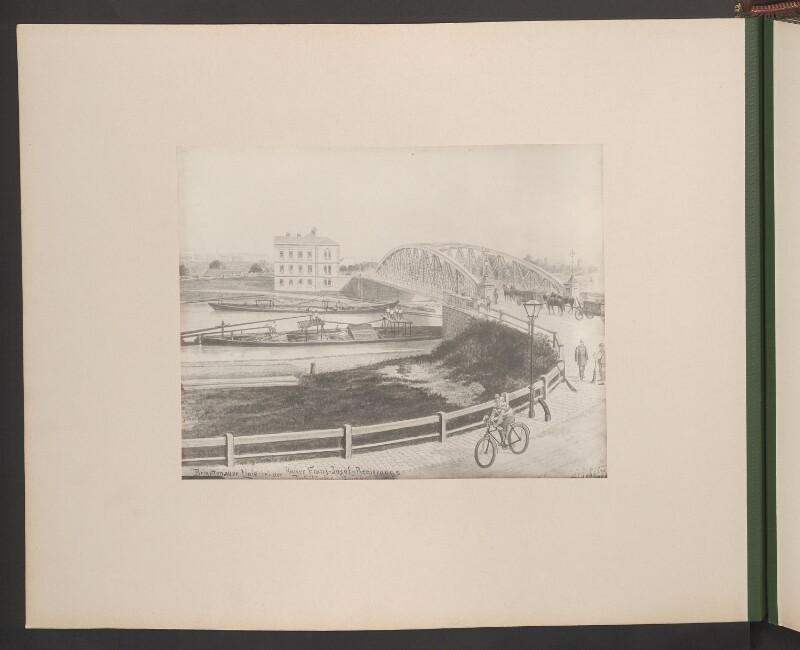 Brigittenauer Linie bei der Kaiser Franz-Josef-Regierungs Jubiläums-Brücke