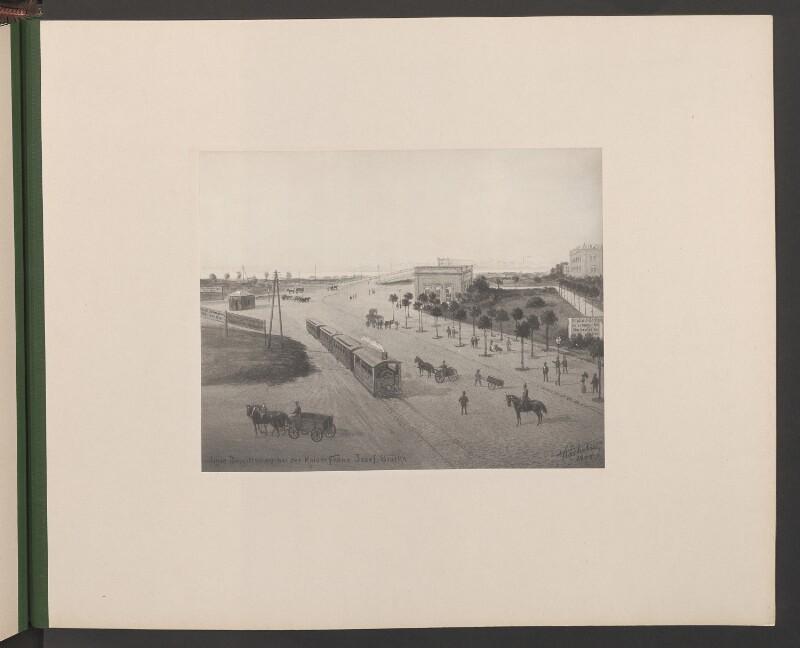 Linie Brigittenau bei der Kaiser Franz Josef-Brücke
