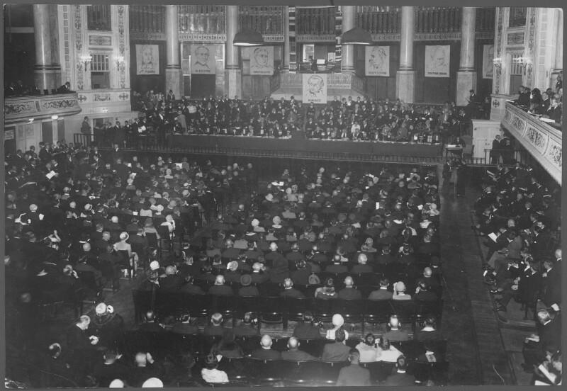 1. Paneuropa-Kongreß im Großen Konzerthaussaal