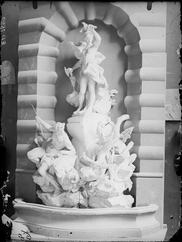Modell des Monumentalbrunnen 'Macht zur See'