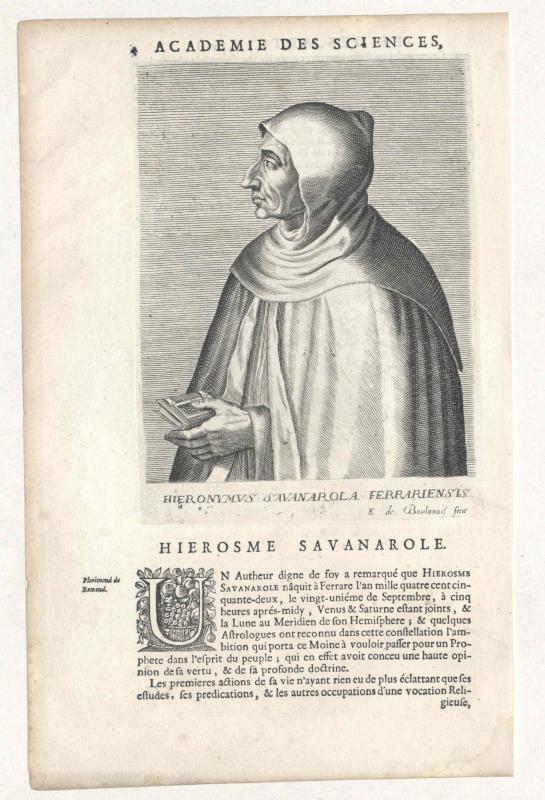 Savonarola, Girolamo