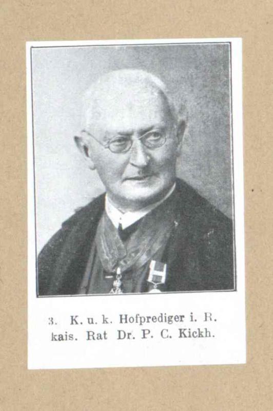 Kickh, Rudolf Josef