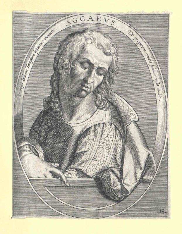 Aggäus, Prophet