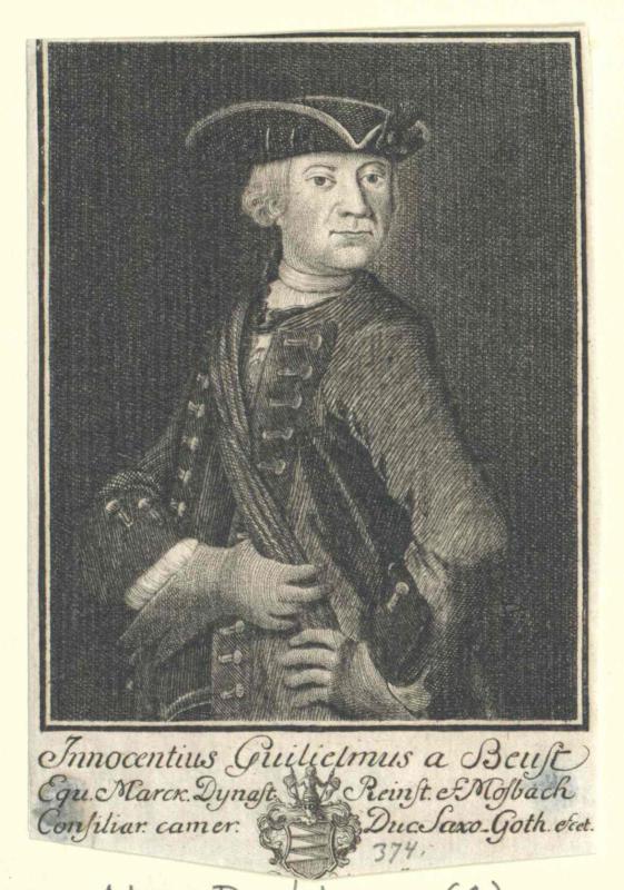 Beust, Innozenz Wilhelm von