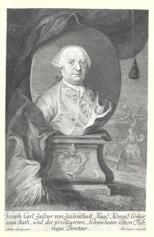 Zaillner-Zaillenthal, Josef Karl von