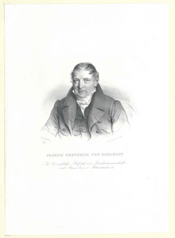 Doblhoff-Dier, Josef Gabriel Freiherr von