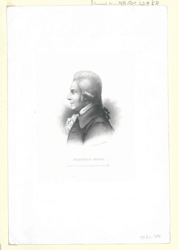 Gentz, Friedrich von