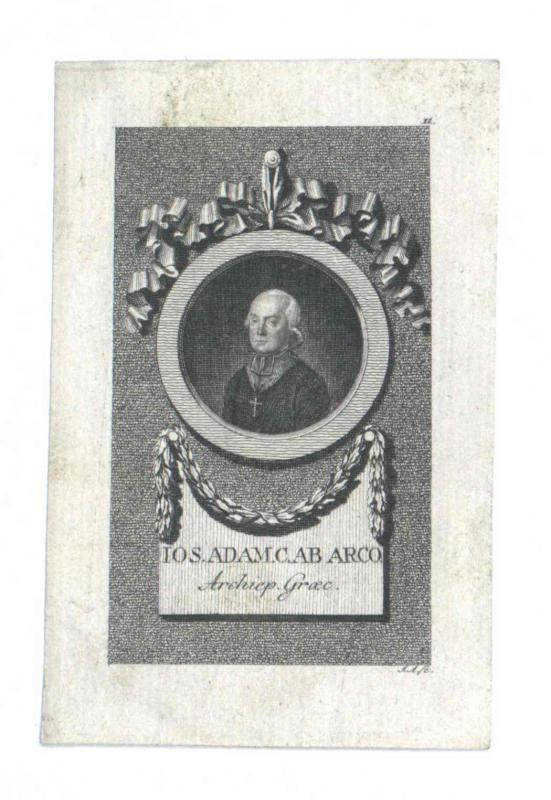 Arco, Josef Adam Graf von