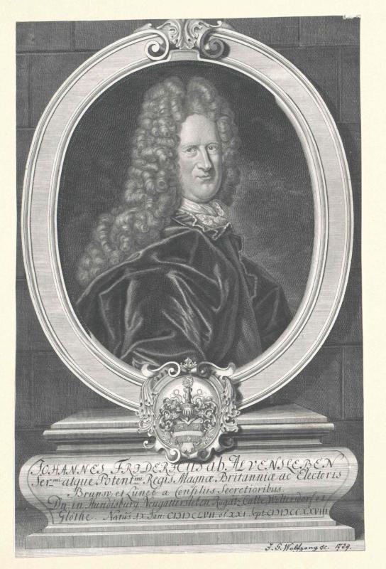 Alvensleben, Johann Friedrich von